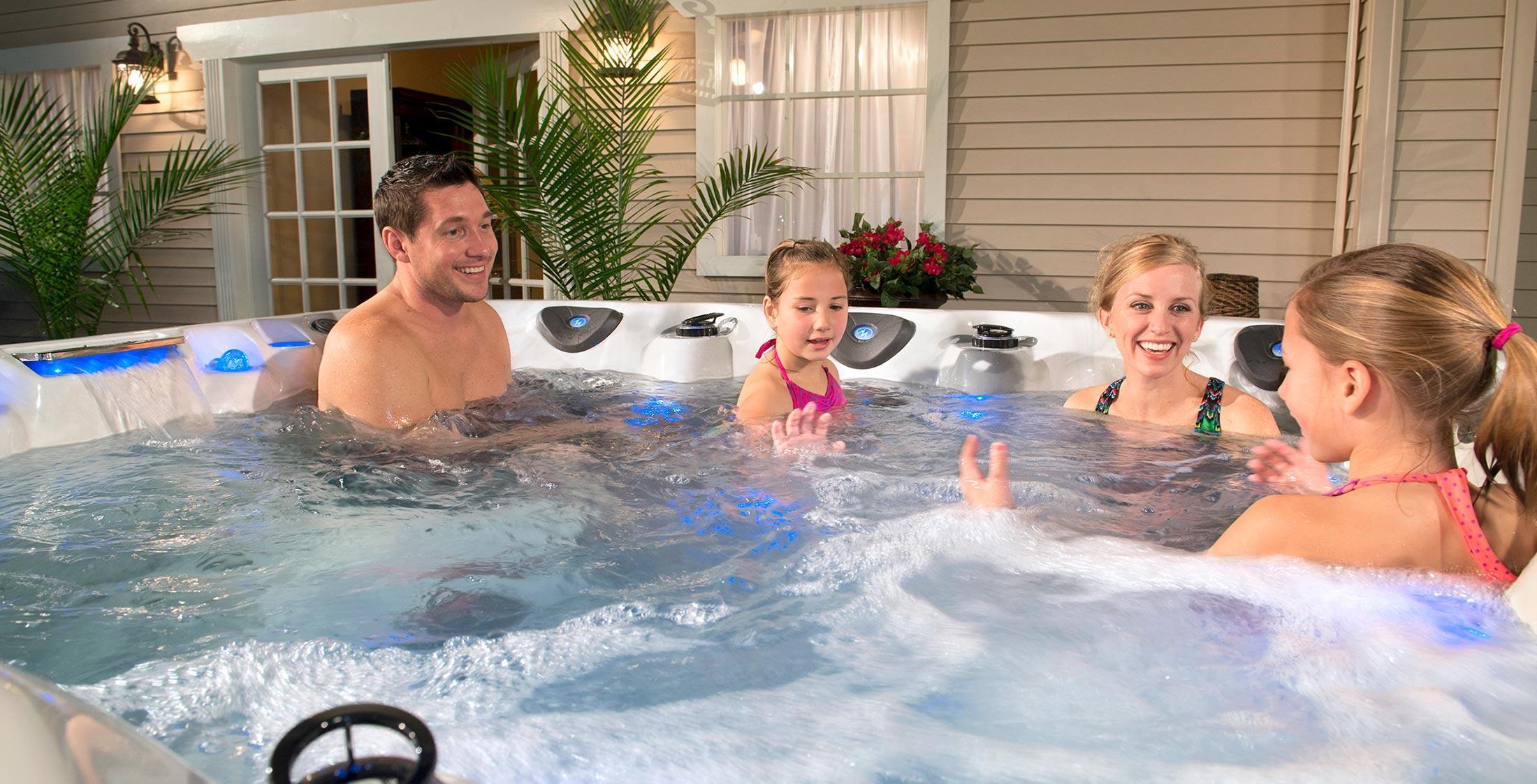 Michael Phelps Hot Tub Range